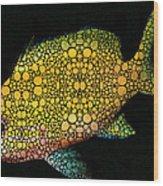Tropical Fish Art 14 By Sharon Cummings Wood Print