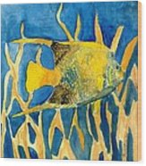 Tropical Fish Art Print Wood Print