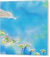 Tropical Fishes Wood Print
