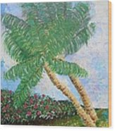 Tropical Flair Wood Print