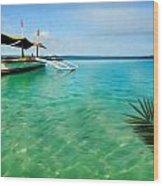 Tropical Getaway Wood Print