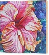 Tropical Hibiscus 4 Wood Print