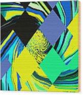 Tropical Impressions Wood Print