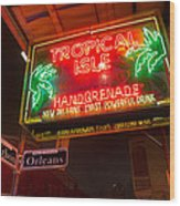 Tropical Isle Nola Style Wood Print