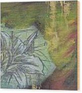 Tropical Lily No.3 Wood Print