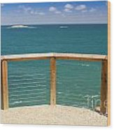 Tropical Lookout Wood Print