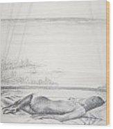 Tropical Nude Wood Print