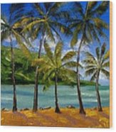 Tropical Paradize Wood Print