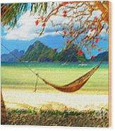 Tropical Peace Wood Print