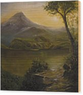 Tropical Scenery Wood Print