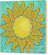Tropical Sun Wood Print