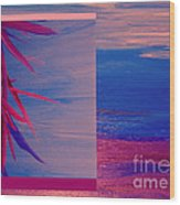 Tropical Sunrise By Jrr Wood Print by First Star Art