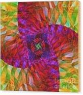 Tropical Twist Wood Print