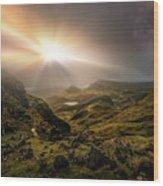 Trotternish Ridge Light #3 Wood Print