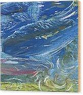 Trout Swirls Wood Print