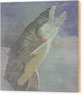 Trout To Fly Wood Print