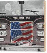 Truck 23 Wood Print