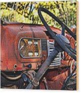 Truck Dash Wood Print