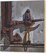 Truck Handle Wood Print