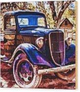 Truck Wood Print