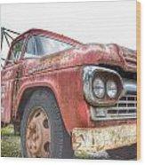 Truck Treasure Wood Print
