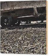 Trucks Wood Print