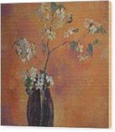 Trudi's Vase Wood Print