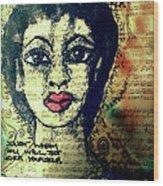 True Beauty Is Soul-deep Wood Print