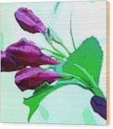 True Love - Beautiful Painting Like Photographic Image Wood Print