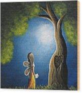 True Love Lasts Forever By Shawna Erback Wood Print by Shawna Erback
