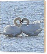 True Love Wood Print