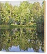True Reflection Wood Print