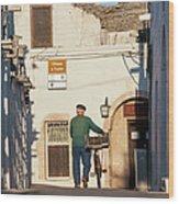 Trulli Houses Alberobello Apulia Puglia Wood Print