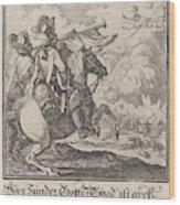 Trumpet, Caspar Luyken, Anonymous Wood Print