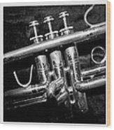 Trumpet Triptych Wood Print