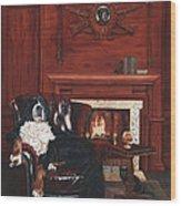 Tsar Misha Wood Print