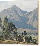 Tsaranoro Mountains Madagascar 1 Wood Print