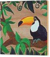 Tucan Wood Print