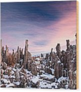 Tufa Mono Lake  Wood Print