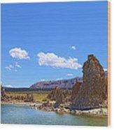 Tufa Rock At Mono Lake Wood Print