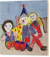 Tuffys Toys, 1993 Wood Print
