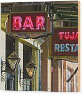 Tujague's Bar And Restaurant Wood Print