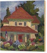 Tukwilla Farm House Wood Print
