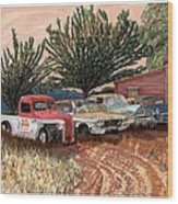 Tularosa Motors Wood Print