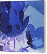 Tulip Abstract 2 Wood Print