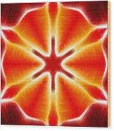 Tulip Abstract Wood Print