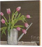 Tulip Bouquet  Wood Print