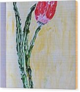 Tulip For You Wood Print