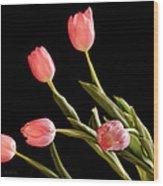 Tulip Happy Wood Print