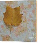 Tulip Poplar Study Wood Print